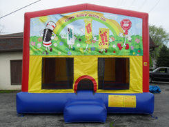 Basic Yellow Xl Indy Jump Party Rentals Indianapolis
